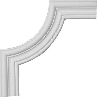 Ekena Millwork 0.73 Feet Primed Wall Panel Moulding PML08X08CL