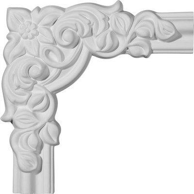Ekena Millwork 0.67 Feet Primed Wall Panel Moulding PML08X08SE