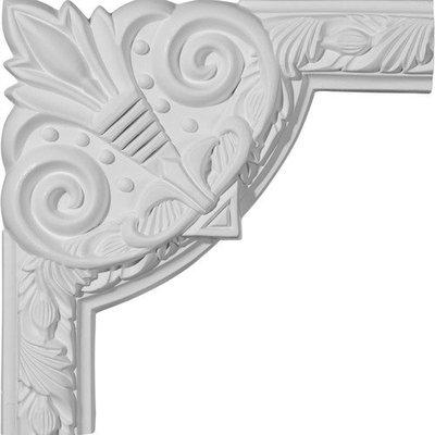 Ekena Millwork 0.81 Feet Primed Wall Panel Moulding PML09X09MI-2