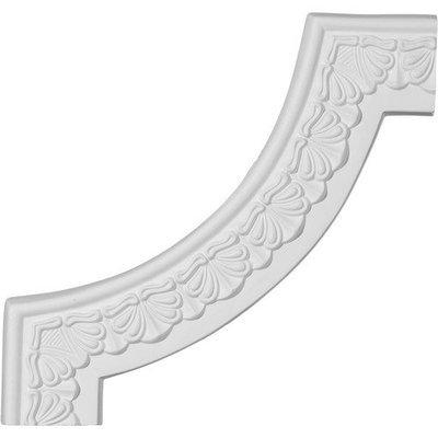 Ekena Millwork 0.91 Feet Primed Wall Panel Moulding PML10X10AC