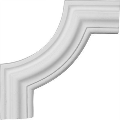 Ekena Millwork 0.88 Feet Primed Wall Panel Moulding PML10X10PM-2