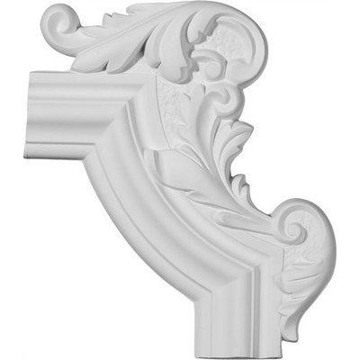 Ekena Millwork 1.1 Feet Primed Wall Panel Moulding PML13X10PM-R