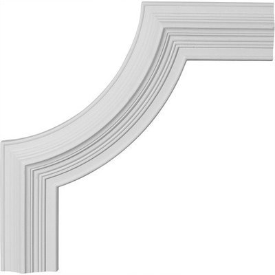 Ekena Millwork 1.2 Feet Primed Wall Panel Moulding PML14X14ED