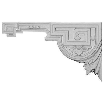 Ekena Millwork 11-in x 6.375-in Legacy Urethane Applique