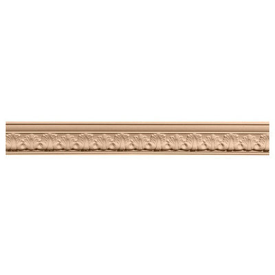 Ekena Millwork 1.12-in x 2.16-in x 8-ft Interior/Exterior Stain Grade Maple Crown Moulding (Pattern 171006) MLD02X02X03ACMA