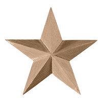 Ekena Millwork 6.48-in Stain Grade Knotty Alder Rosette Accent ROS06X06GLAL