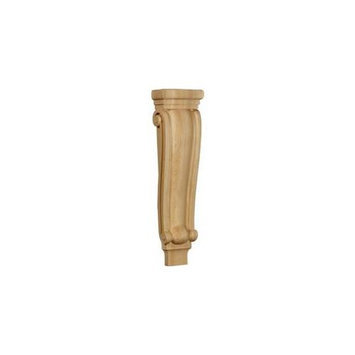 Ekena Millwork 6.75-in x 27.5-in Cherry Traditional Wood Corbel