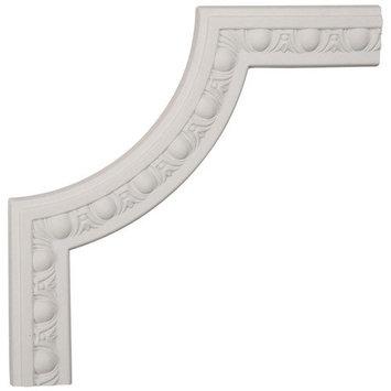 Ekena Millwork 12-in x 1-ft Polyurethane Panel Corner Picture Frame Moulding PML12X12RA-2