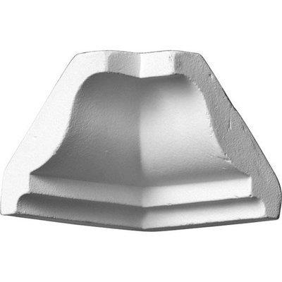 Ekena Moulding: 1-5/8 in. x 1-5/8 in. x 1-5/8 in. Polyurethane Crown Inside Corner Moulding MIC01X01OD