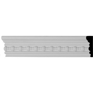 Ekena Millwork Beaded 2.625-in x 7.88-ft Polyurethane Connector Wall Panel Moulding MLD02X00BE