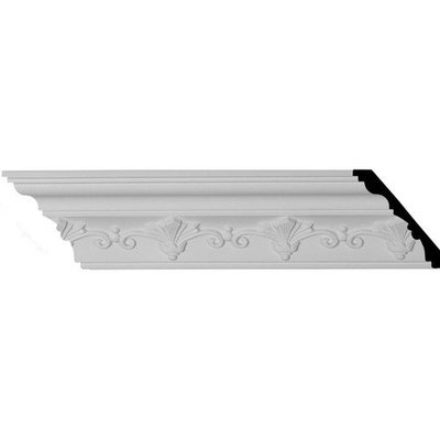 Ekena Millwork 3.25-in x 7.88-ft Polyurethane Roberts Crown Moulding MLD03X02X04RO