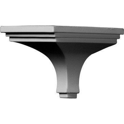 Ekena Millwork 3.75-in x 5.88-in Polyurethane Outside Corner Crown Moulding Block MOC04X03DY