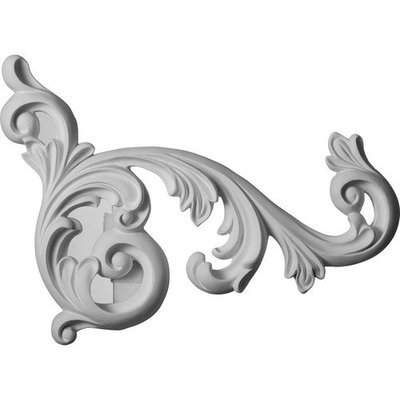 Ekena Millwork 1.64-ft Primed Polyurethane Applique Accent ONL16X20ED-R