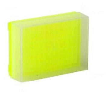 Bio Plas 0034F 96 Well Preparation Rack W Cover - 5 pk - Fluorescent Yellow