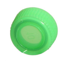 Bio Plas 4220R Screw Cap With O-Ring For Bio Plas Screw Cap MCT - 1000 pk - Green