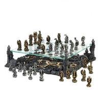 Vgce Black Dragon Chess Set