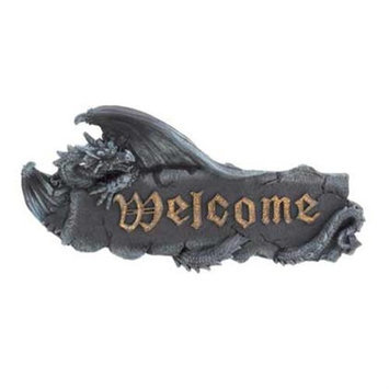 Home Locomotion 10015263 Medieval Dragon Welcome Sign
