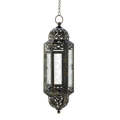 VICTORIAN HANGING CABLE LANTERN
