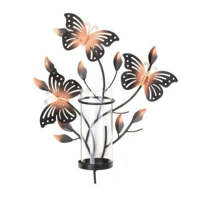 Zingz & Thingz Butterflies Metal Sconce