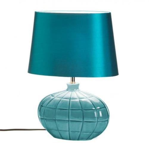 Home Locomotion Turquoise Table Lamp
