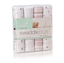 aden by aden + anais Swaddleplus Blanket, Girl (4 pk.)