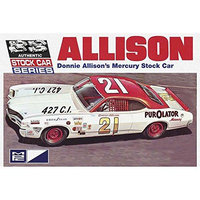 MPC 796 Donnie Allisons Mercury Stock Car 1:25 Scale Plastic Model Kit MPCS0796 Mpc