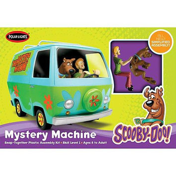 Round 2 Scooby-Doo Mystery Machine 1:25 Scale Snap-Fit Model Kit