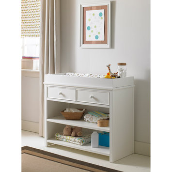 Ti Amo Changing Table with Removable Changing Top Finish: Snow White