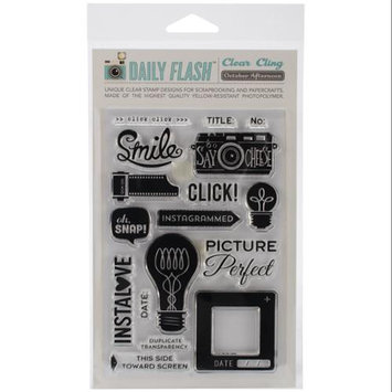 October Afternoon Daily Flash Stamp Set-Capture That!