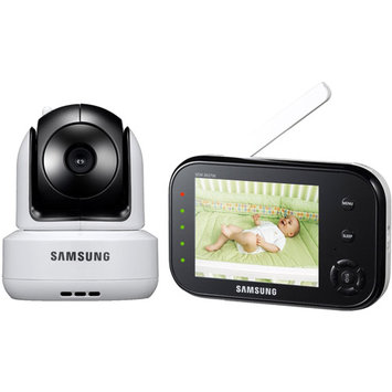Samsung SEW3037W Security SafeVIEW Video Baby Monitor Black/White