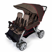 Foundations Worldwide, Inc. Foundations Quad LX 4 Passenger Stroller - Earthscape