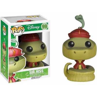 Pop Vinyl Disney R. Hood Sir Hiss