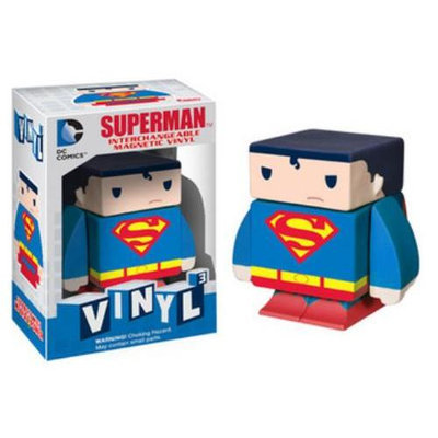 Funko DC Comics Superman Interchangeable Magnetic Vinyl Figure