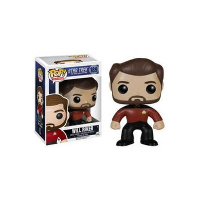 Pop Vinyl Star Trek: The Next Generation Will Riker Pop! Vinyl Figure