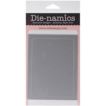 My Favorite Things MFT383 Die-Namics Photo Card Frame Die 4 in. X5.25 in. -Joy