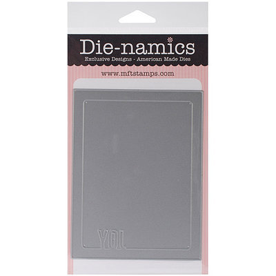My Favorite Things MFT383 Die-Namics Photo Card Frame Die 4 in. X5.25 in. -Joy