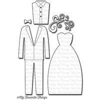 My Favorite Things Die-Namics Dies-Bride & Groom, 1