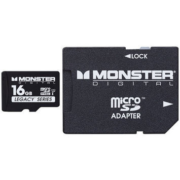 Monster Cable 16GB SDHC Micro SD Memory Card
