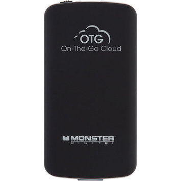 Monster Digital - On-the-go Cloud With 8GB Microsd Card - Black