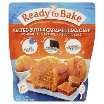Ready To Bake Salt Butter Caramel Lava Cake Case Of 10 - 1.21 Lb