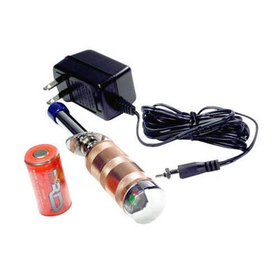 Glow Starter w/Meter and Charger, 1600 mAh - RD Logics - 63180