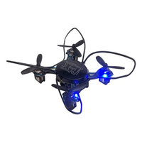 Odyssey Toys ODY-7555BL X-4 Nandrone - Nanodrone - Quadcopter - 2.4G Hz Control - 4-channel with Gyro - 360 Flips - 6-Axis Design with Fast Speed - Lights