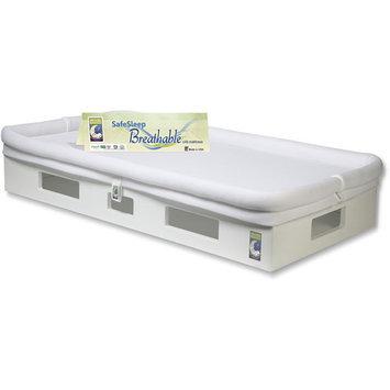 Secure Beginnings SafeSleep Crib Mattress - White/White