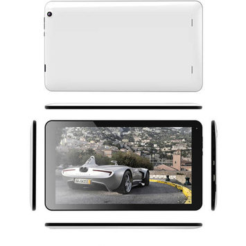 ANTM REVO Quad-Core 10.1 8GB Touchscreen Tablet Android 4.4 AN1008 - White