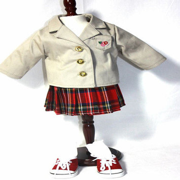 Arianna 4 Doll Studious Me School Uniform for 18