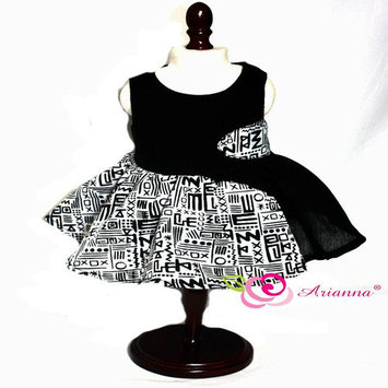 Arianna Tribal Geometric Panel Party Dress for 18