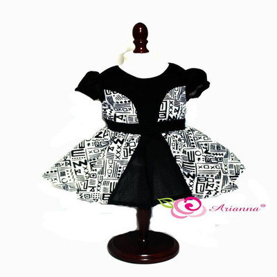 Arianna Tribal Chic Party Dress for 18