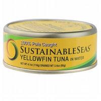 Sustainable Seas YellowfinTuna in Water - 4.1 oz