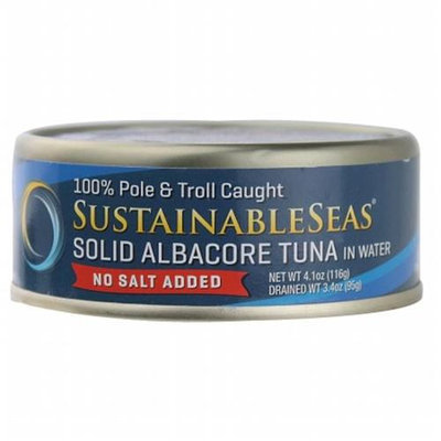 Sustainable Seas YellowfinTuna in Water No Salt Added 4.1 oz