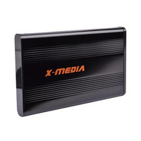 X-Media 2.5 USB 3.0 Powered SuperSpeed SATA PC and Mac Hard Drive Enclosure
